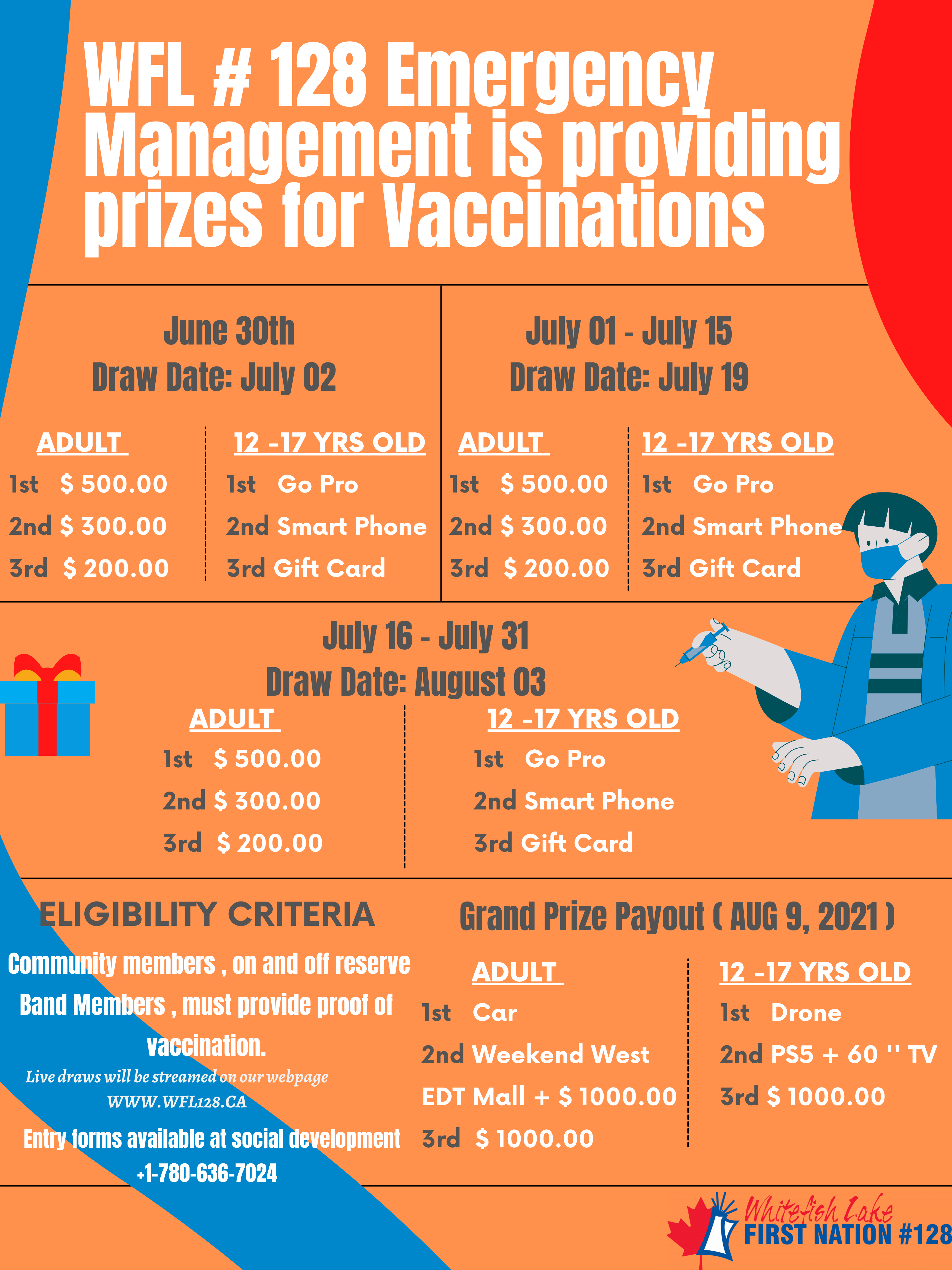 Final 2 WFL Vaccination Prizes Poster